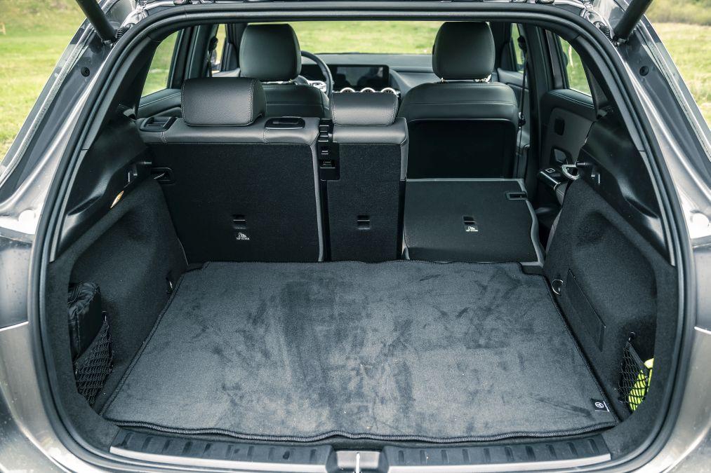 portbagaj Mercedes EQA