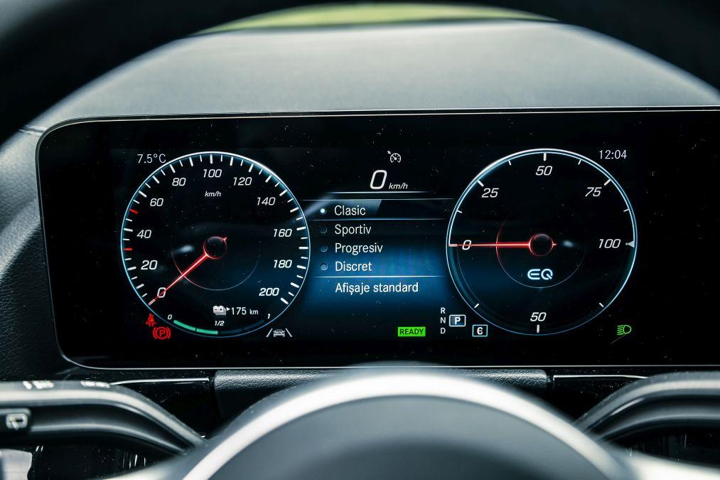 indicatoare de bord Mercedes EQA