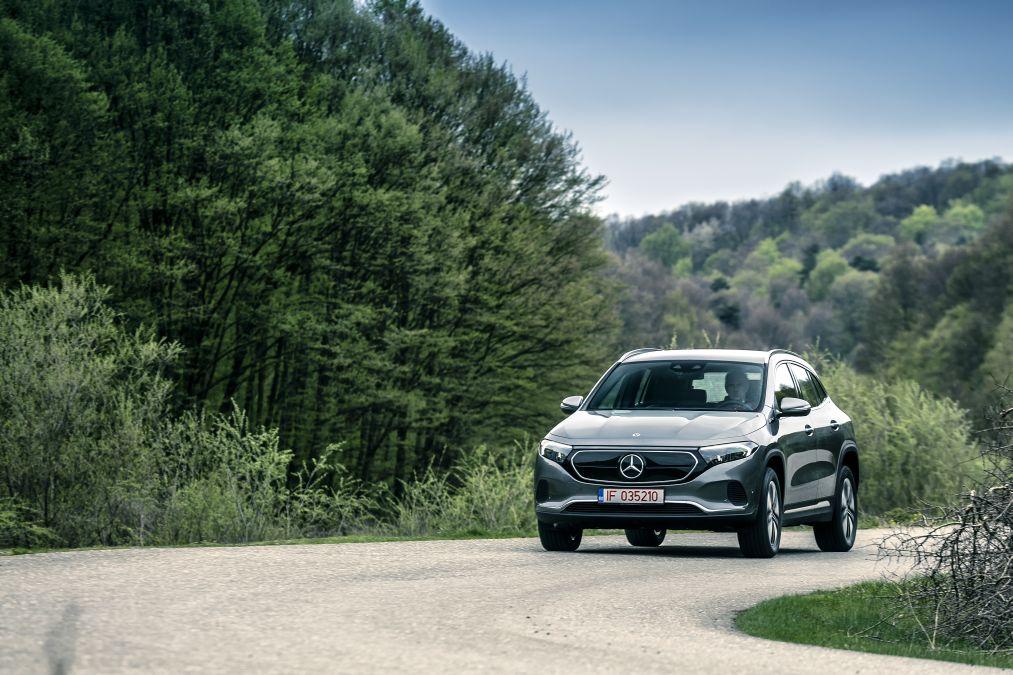 test Mercedes EQA