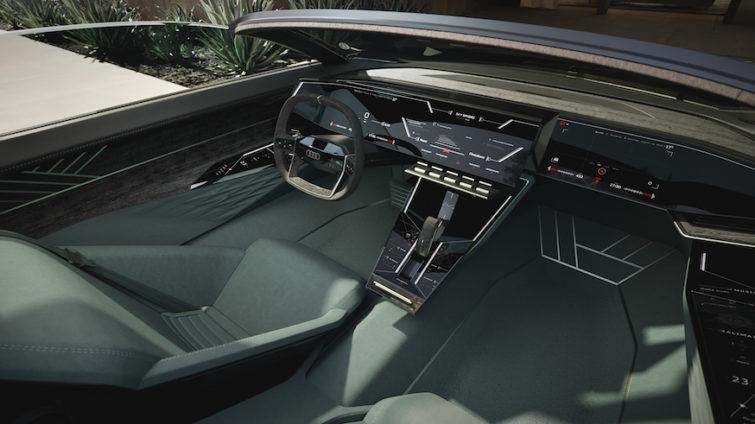 Audi skysphere concept - interior