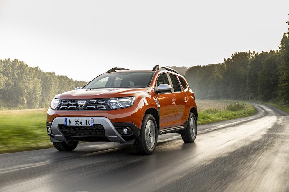 Test Dacia Duster facelift - Orange Arizona