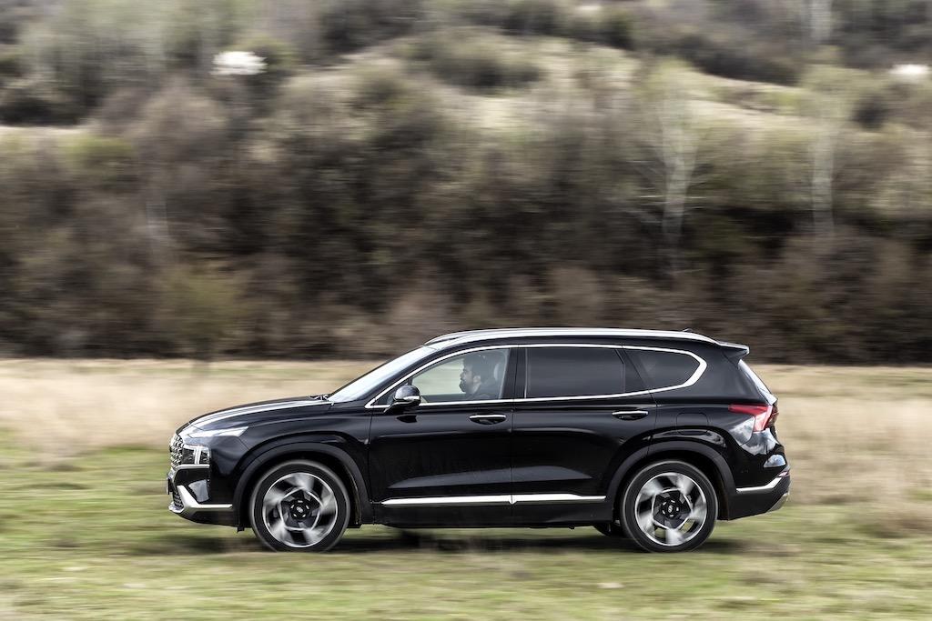 Test Hyundai Santa Fe