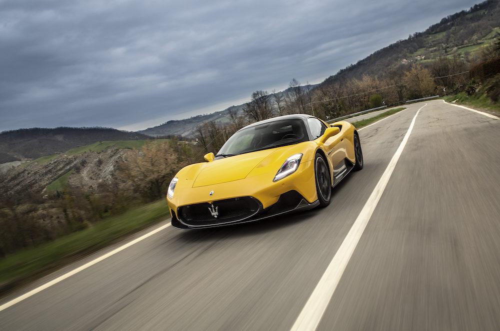Test Maserati MC20