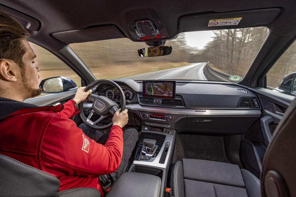 plansa de bord Audi Q5