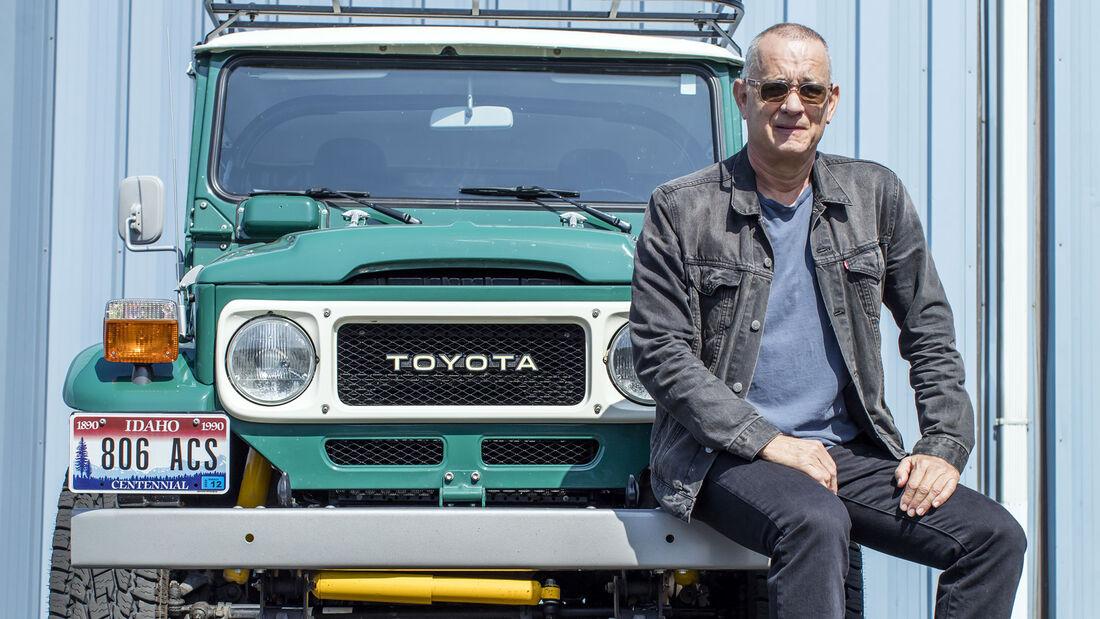 Toyota Land Cruiser FJ40 - Tom Hanks