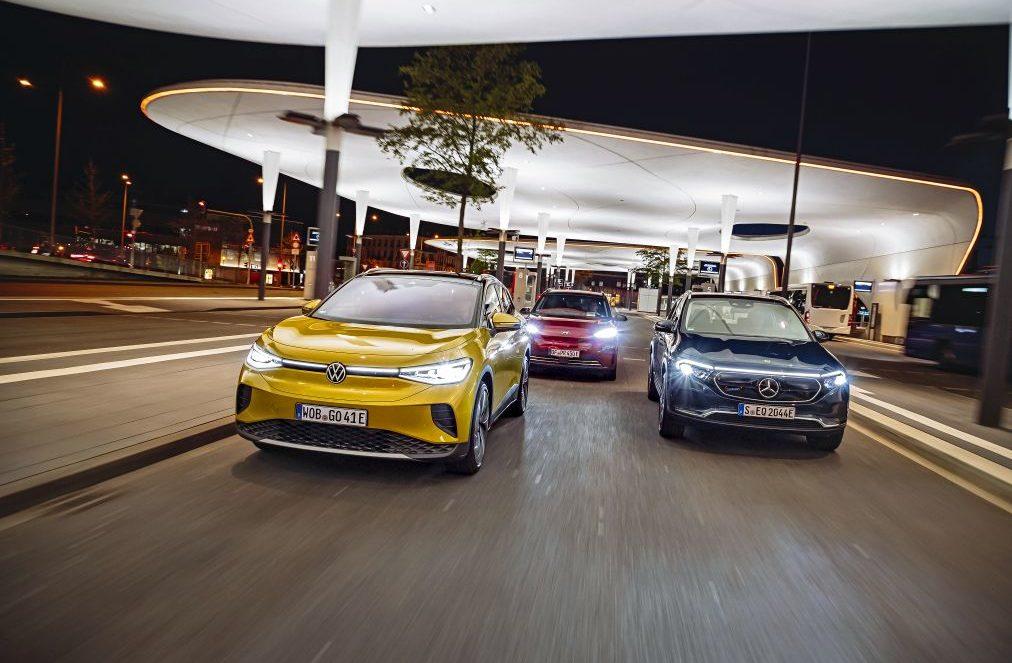 test comparativ VW ID.4, Mercedes EQA, Hyundai Kona electric